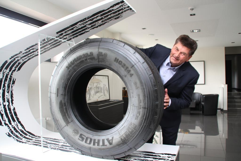 Ralf Hämmerling gibt Lastwagen Profil